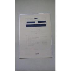 CLANSMAN VHF ANTENNA SYSTEMS TECH HB REPAIR CHARTS INDEX 1 THROUGH 11